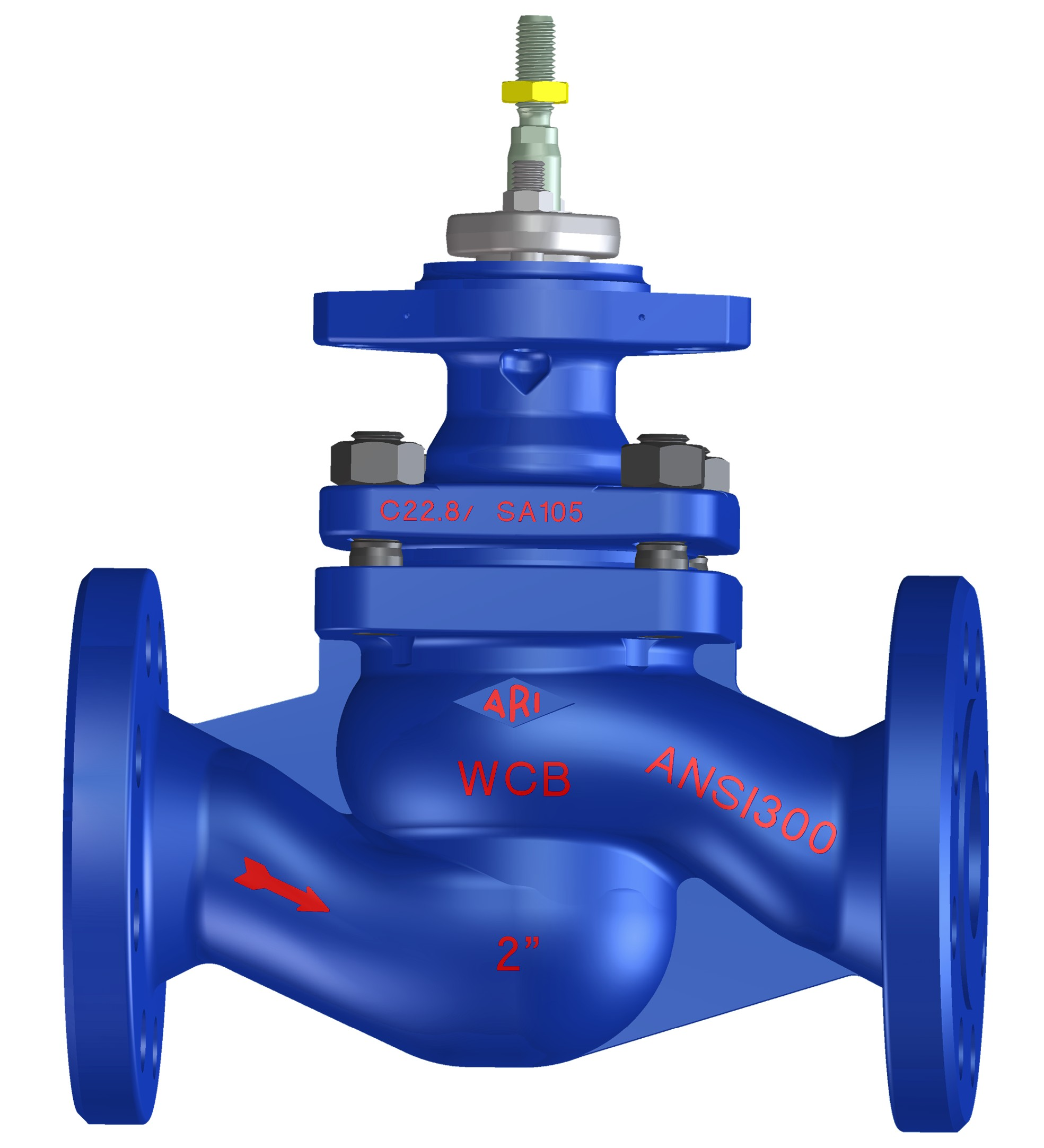 Разработка конструкции привода S-образного регулирующего клапана